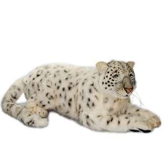 Life Size Crouching Snow Leopard Mama Hansa 49