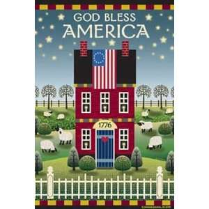 God Bless America Standard Flag Patio, Lawn & Garden