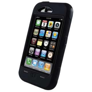 Apple iPhone 3G OtterBox Defender Case (Black) w/o Holster Belt Clip
