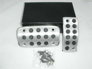 available in stock manual and automatic transmission pedal pads