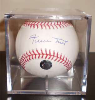 MAYS AUTOGRAPHED SIGNED MLB BASEBALL SAN FRANCISCO GIANTS SAY HEY HOLO