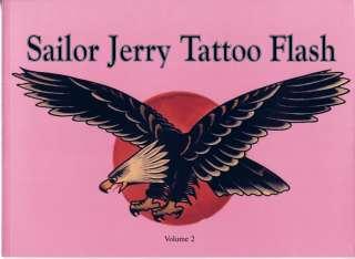 Tattoo Supplies Book Sailor Jerry Tattoo Flash Vol 2