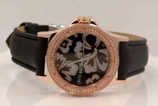 Swiss Master Ladies Open Heart Diamond Watch 0.12ctw H105