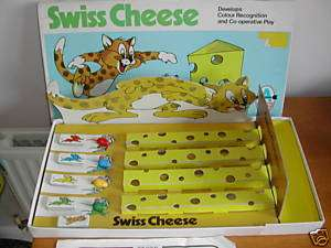 SWISS CHEESE GAME   1974   ARROW   TOM AND JERRY STYLE