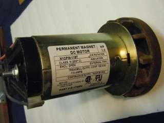Wind Generator Permanent Magnet Motor 130 VDC 1 Hp DC 7.5 AMP