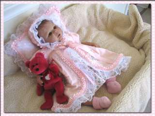 , Hand Made Dress So Real Reborn Baby Girl no Animal Hair Used