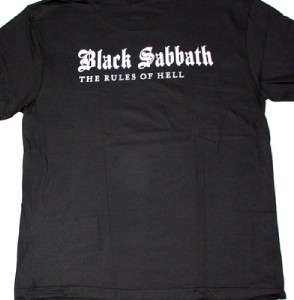 BLACK SABBATH THE RULES OF HELL RONNIE JAMES DIO HEAVY METAL NEW BLACK