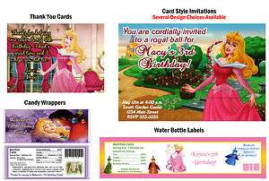 Princess Sleeping Beauty ~ Birthday Party Ticket Invitations, Supplies