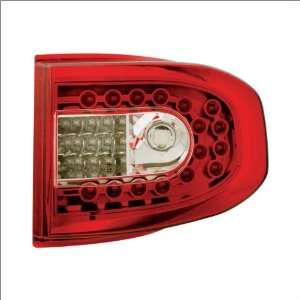 IPCW Red Led Tail Lights (1 Pair) 07 09 Toyota FJ Cruiser Automotive