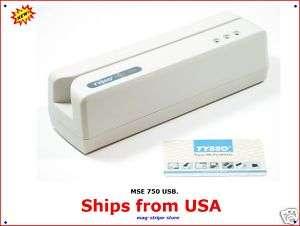 MSE750 USB Credit Card Magstripe Reader/ Writer MSR206