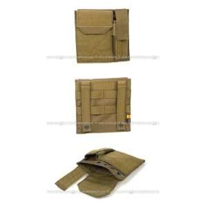 Pantac MOLLE Administrative / Pistol Mag Pouch (CB / CORDURA)