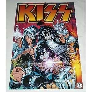 KISS Dark Horse Comics DHC Rock & Roll Music Group Promo Poster:Gene