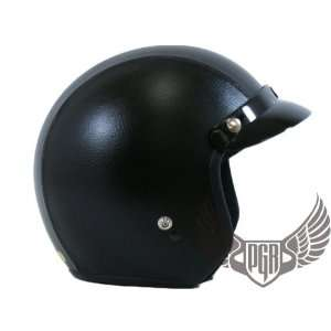 PGR 205 Retro Vintage Bobber Motorcycle Helmet DOT Approved (Small
