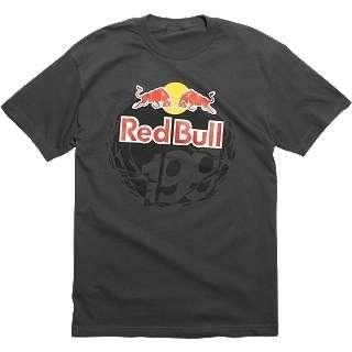 Fox Racing Red Bull Travis Pastrana P 199 Tee T Shirt Charcoal XXLarge