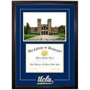 University of California, Los Angeles Graduate Framed Lithograph w