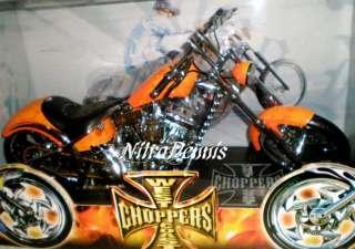 JESSE JAMES 1/5 Diecast EL DIABLO West Coast Choppers KID ROCK