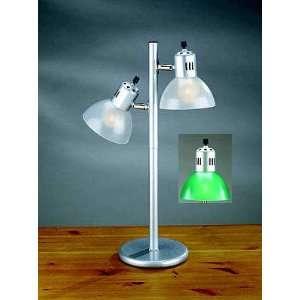 Vivid II Dual Light Green Table Lamp