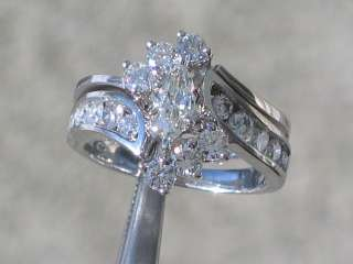 FABULOUS 1.5 CARAT DIAMOND ENGAGEMENT RING 14K SET