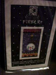 Firbert Sisters & Best Friends Cross Stitch Pattern
