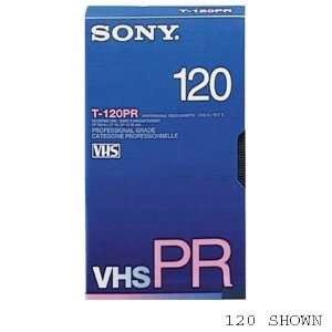 Sony T30pr Profesional Grade VHS Video Tape: Electronics