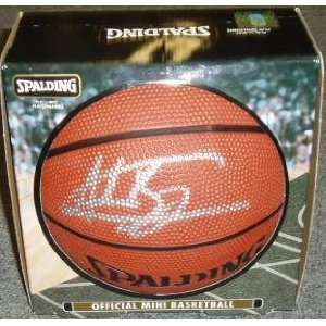 Andrew Bogut Signed Ball   Mini Sports & Outdoors