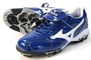 New Mizuno Baseball Cleats Navy Mens Sz 12 Softball