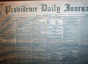 newspapers REPUBLICANS nominate ABRAHAM LINCOLN for PRESIDENT of US