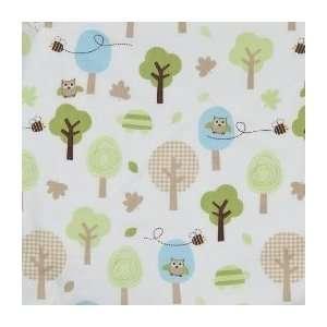 Circo Crib Sheet Trees   Blue/Brown/Green Baby