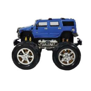 Radio Road Toys RC Hummer H2   Blue Toys & Games