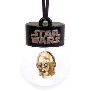 Star Wars C 3PO Head Water Ball Christmas Ornament