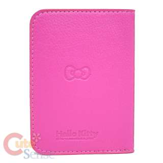 Sanrio Hello Kitty Card Holder / Wallet Leather  Pink