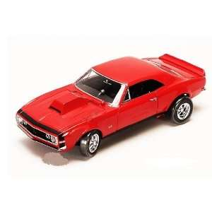 Top (1967, 118, Red) GM Chevrolet diecast car model American classic