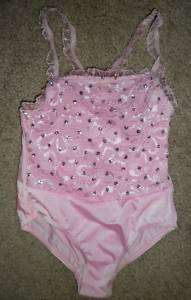 Pink Blue Dance Ballet Costume Leotard CHILD XS S L