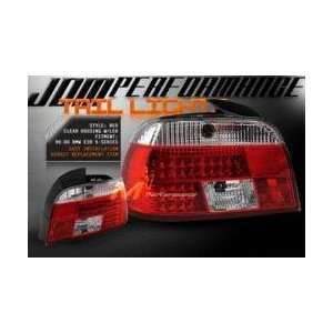 BMW 5 Series Led Tail Lights Tail Lights LED   03 B52004TLED 1997 1998