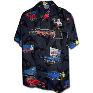 Ford 32 Deuce Coupes Hot Rod Cars Camp Hawaiian Shirt Clothing