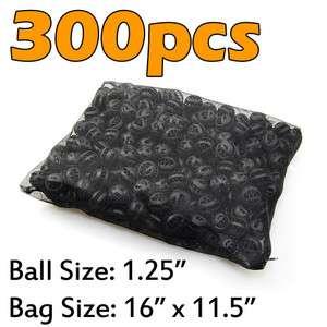 300pcs Aquarium 1.25 Bio Balls Filter Media FREE Bag Wet/Dry Koi Fish