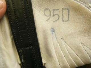 Mens Black Hand Made Boots sz 9.5D (#9727)