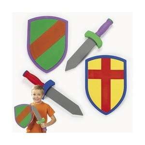 FOAM SWORDS AND ARMOR SETS (6 sets)   BULK: Toys & Games