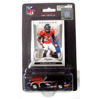 Denver Broncos Collectibles Press Pass Denver Broncos 1969 Camaro 1:64
