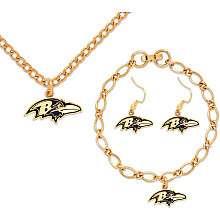 Wincraft Baltimore Ravens Jewelry Gift Set