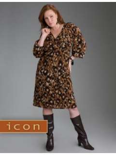 LANE BRYANT   Leopard print dress from our Icon Collection customer