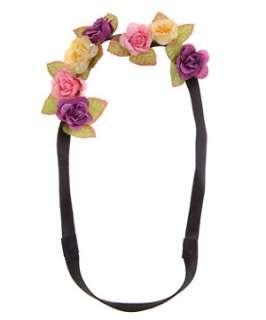 Fuscia (Pink) Flower Garland Headband  248814977  New Look
