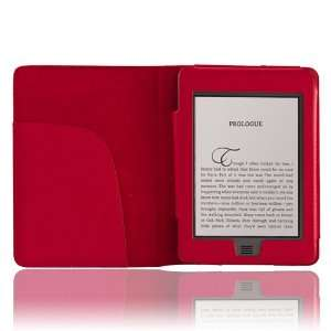 CE Compass Red PU Leather Folio Cover Case Pouch for