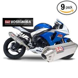 Yoshimura TRC Polished Stainless Steel Tri Oval Slip On Exhaust System
