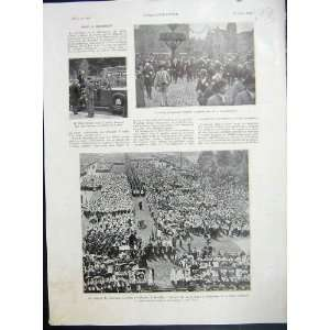 Lebrun Brussels Youth France Military French Print 1935