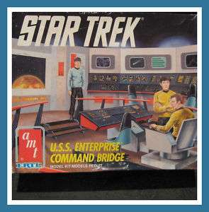 Star Trek USS Enterprise Command Bridge AMT Model Kit