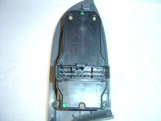 CIVIC [01 05] Power Window Switch Master 4 Door GREY Stock A
