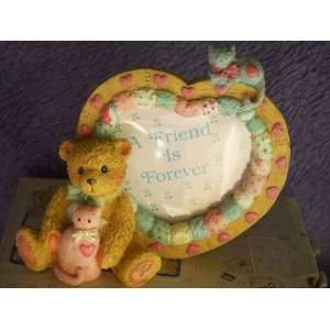 Enesco Cherished Teddies Boy Heart Shaped Photo Frame
