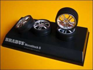 BRABUS Monoblock S Model Wheels Scale1/18