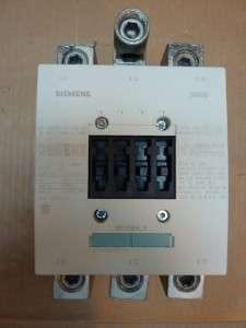 Siemens 3RT1056 6 Contactor 195 Amp #22917